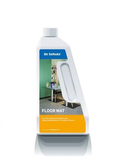 Vzdrževalno čistilo za čiščenje vinila in PVC talnih oblog Floor mat Dr. Schutz