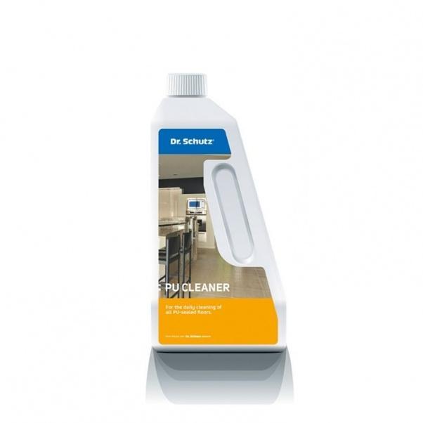 Čistilo za redno in generalno čiščenje vinila in PVC talnih oblog PU Cleaner Dr. Schutz (750 ml) Vzdrževanje in čiščenje vinilne talne obloge