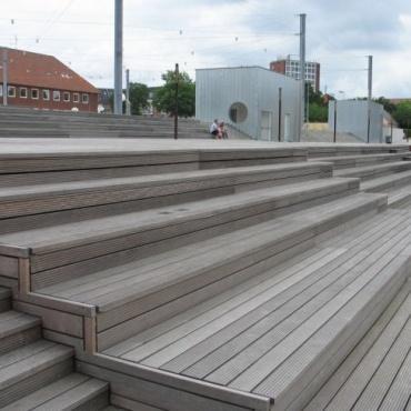 Zunanja lesena terasa massaranduba - Vogart les za terase