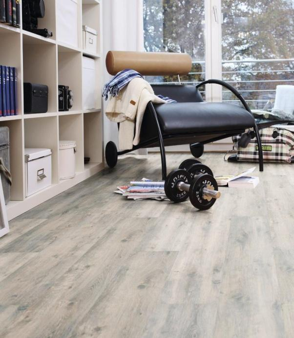 Naravna vinilna talna obloga Arctic Oak - vinil Wineo purline 1000 Wood