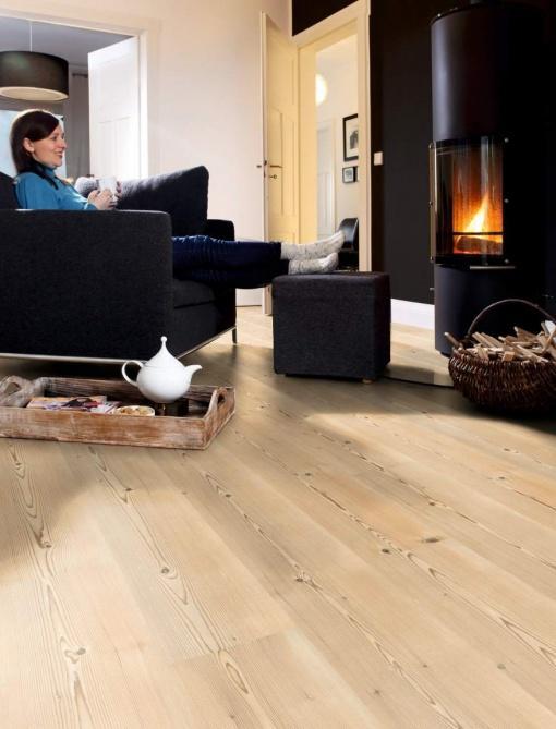 Bio naravne vinilne talne obloge Carmel Pine - vinil Wineo purline 1000 Wood