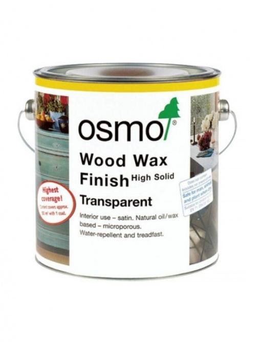 osmo wood wax premaz za les in pohištvo - transparentni toni