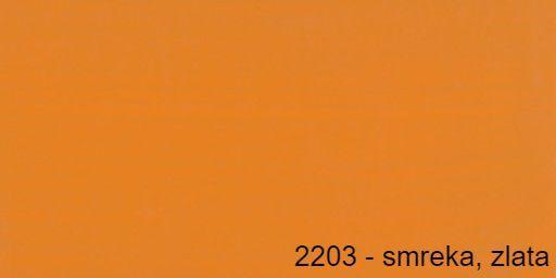 Osmo barvno olje 2203 - smreka, zlata