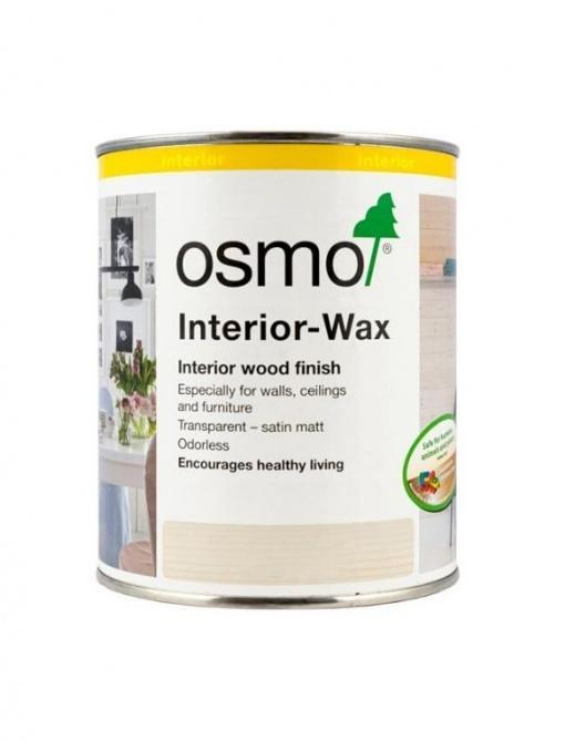 Osmo Interior Wax vosek za pohištvo v beli barvi
