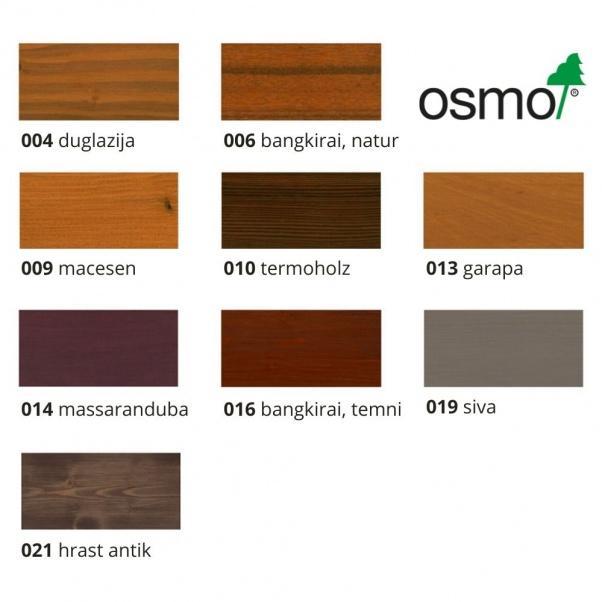 OSMO special barvno olje za terase