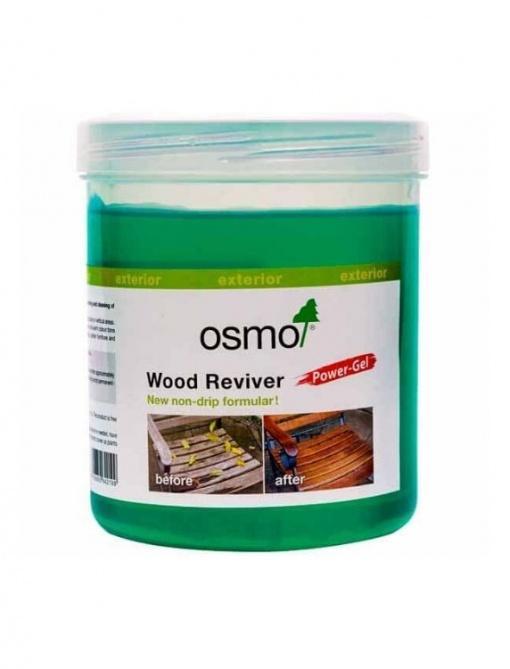 Osmo wood reviver za odstranjevanje sivine s terasnega poda