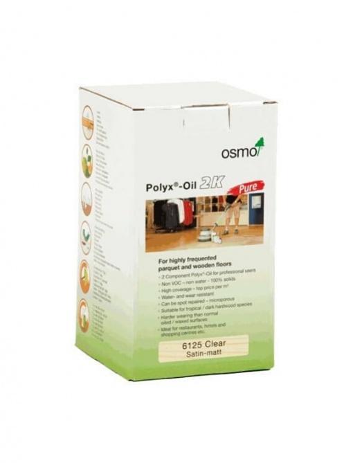 dvokomponentno olje za parket Osmo Polyx Oil 2K PURE