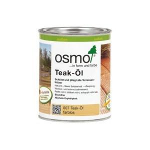 Osmo teakovo olje za vzdrževanje lesene terase