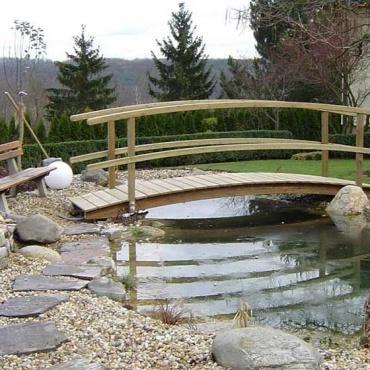 Zunanja lesena terasa sibirski macesen - Vogart les za terase