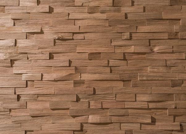 lesena stenska obloga teak Aberlour - Vogart lesene stenske obloge