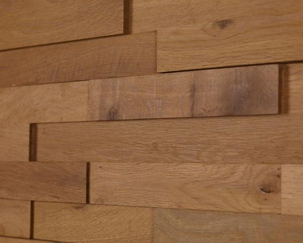 lesena stenska obloga teak Tumbler - Vogart lesene stenske obloge
