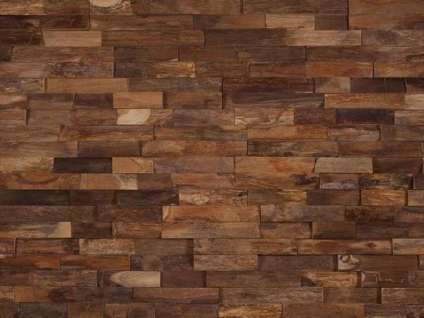 lesena stenska obloga teak Arran - Vogart lesene stenske obloge