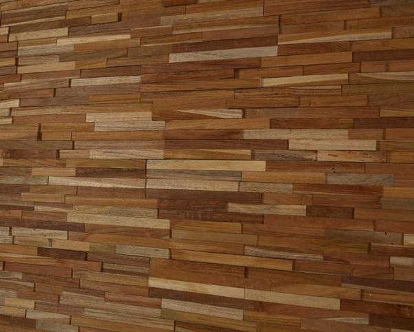 lesena stenska obloga teak Devron - Vogart lesene stenske obloge