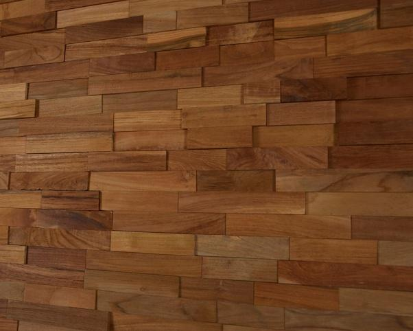 lesena stenska obloga teak Glen - Vogart lesene stenske obloge
