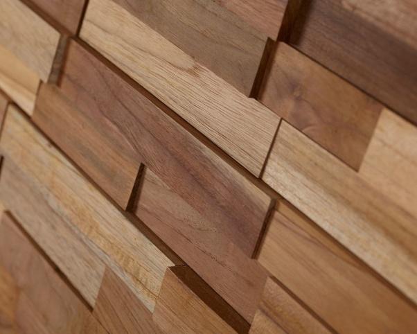 lesena stenska obloga teak Malt - Vogart lesene stenske obloge