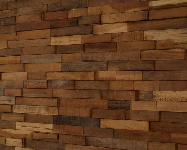 lesena stenska obloga teak Orkney - Vogart lesene stenske obloge