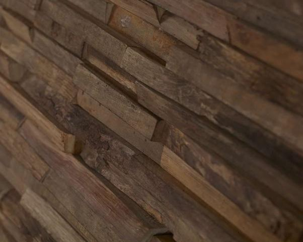 lesena stenska obloga teak Scotch - Vogart lesene stenske obloge