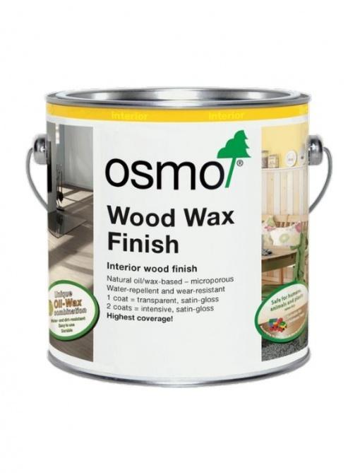 barven, transparenten ali prekriven premaz za les Osmo Wood Wax Intensiv