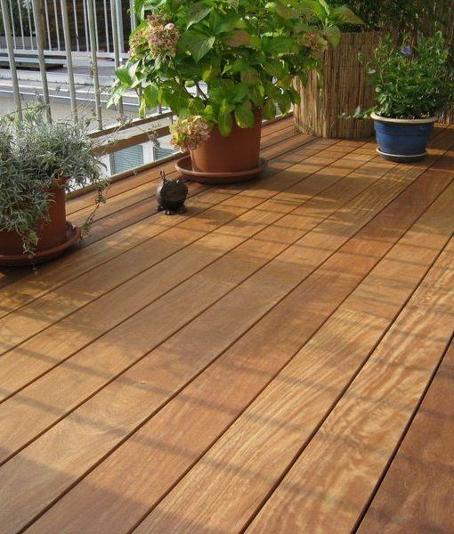 Zunanja lesena terasa cumaru - Vogart les za terase