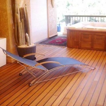 Zunanja lesena terasa teak - Vogart les za terase