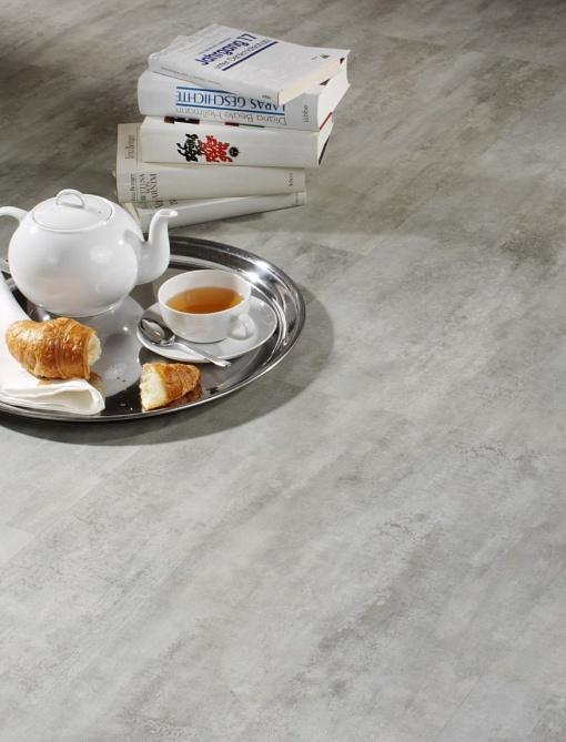 vinilna talna obloga ZIRO Cement grey - Vogart vinilne talne obloge