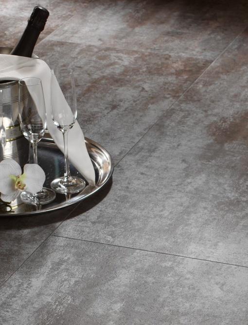 vinilna talna obloga ZIRO Silver Metallic - Vogart vinilne talne obloge